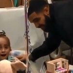 La piccola Sofia e la sua #kikichallenge in ospedale: Drake le fa una sorpresa per i suoi 11 anni