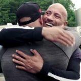 La sorpresa di The Rock fa commuovere il suo stuntman (e cugino)