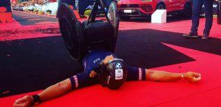 Cervia: Alex Zanardi Ironman da record, si classifica quinto tra i normodotati