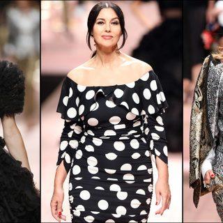 Dolce&Gabbana (ri)porta in passerella le super top
