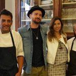 Justin Timberlake a Siena con la moglie Jessica Biel