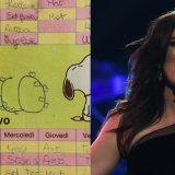 Primo giorno di scuola, il tuffo nel passato di Laura Pausini: ecco il suo diario con la dedica a Marco