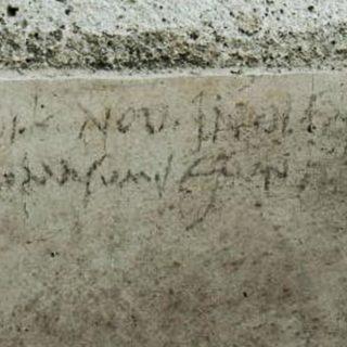 Trovata un'iscrizione che cambierebbe la data dell'eruzione