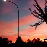 Meteorite attraversa il cielo al tramonto: la palla luminosa è stata avvisata nel centro-nord Italia