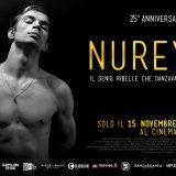 """Torna al cinema, visto l'enorme successo, il  15 di  novembre il film su """"Nureyev"""""""