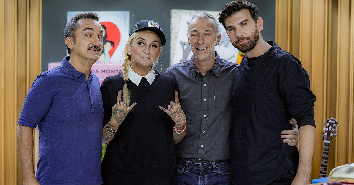 La Pina e Federico Giunta a DJCI