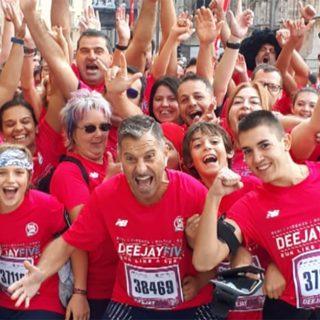 La partenza della Deejay Five con Gabriele Corsi