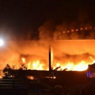 Le conseguenze degli incendi di rifiuti illegali