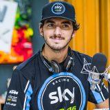 Moto2, il campione del mondo Francesco Bagnaia a Deejay chiama Italia