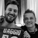 """Roberto Baggio al concerto di Cremonini, la dedica live con """"Marmellata #25"""""""