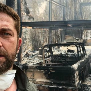 Le fiamme distruggono le ville di Miley Cyrus e Gerard Butler