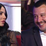 Costanzo Show, la promessa di Salvini a Giulia De Lellis sul terremoto di Amatrice
