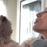 Michelle Hunziker torna a casa: la gioia incontenibile del cagnolino Leone