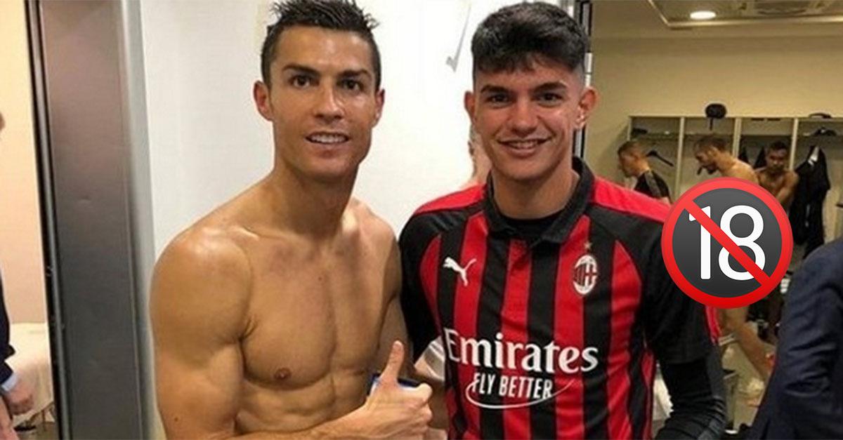 """Chiellini nudo sullo sfondo della foto con Ronaldo: le scuse di Bellanova """"Ho fatto un errore"""""""