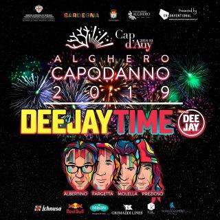 Capodanno 2019, ad Alghero c'è il Deejay Time