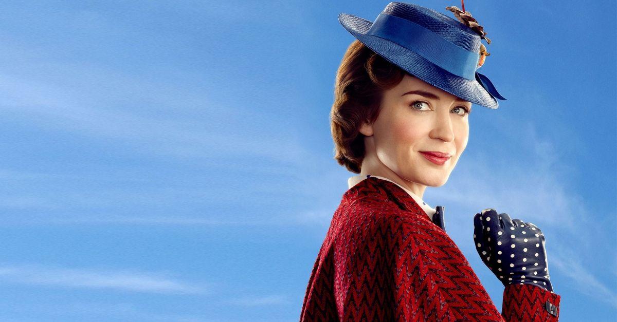 Mary Poppins è tornata  con il viso di Emily Blunt e un messaggio di  speranza 842025acb1b1