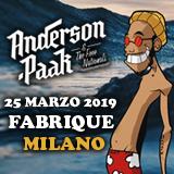 Anderson .Paak, il nuovo astro della black music, a marzo in Italia per uno show irresistibile