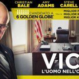 Vice – L'uomo nell'ombra, con un Christian Bale da Oscar, al cinema dal 3 gennaio.