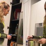 """Casa Ferragnez, Chiara cucina dopo la finale di X Factor """"Il miracolo delle 2:43 del mattino"""""""