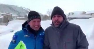 """Checco Zalone bloccato dalla neve a Roccaraso: ritratta la battuta del film """"Quo Vado"""""""
