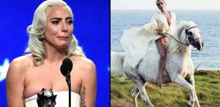 """Critics' Choice Awards. """"Arabella sta morendo"""", Lady Gaga abbandona la cerimonia per l'ultimo saluto al suo cavallo"""