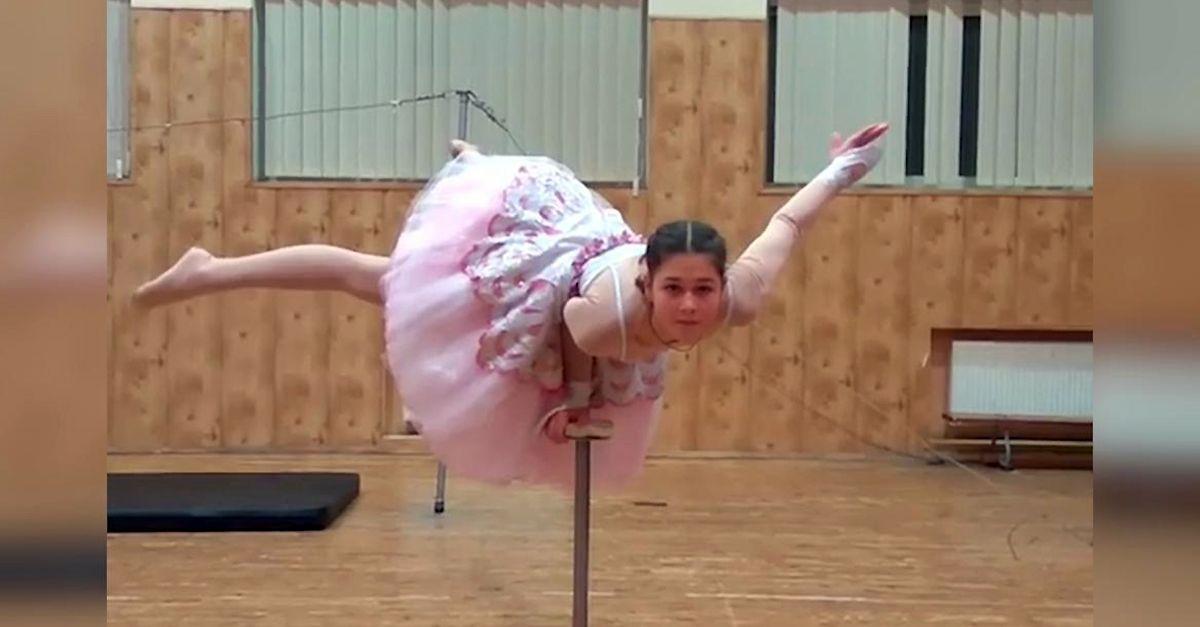 La magica danza di Veronika, sotto il tutù la divertente sorpresa