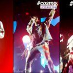 5 minuti nel Cosmo: rivivi dalla prima fila i momenti migliori del concerto di Milano
