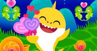 Baby Shark, la versione di San Valentino della canzone che fa impazzire i bambini