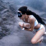 La corsa sul fondo del mare: il duro allenamento dell'apneista colombiana