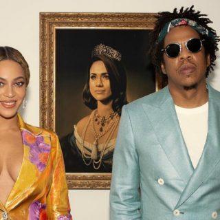 """Beyoncé ringrazia la """"Monna Lisa nera"""" Meghan Markle"""