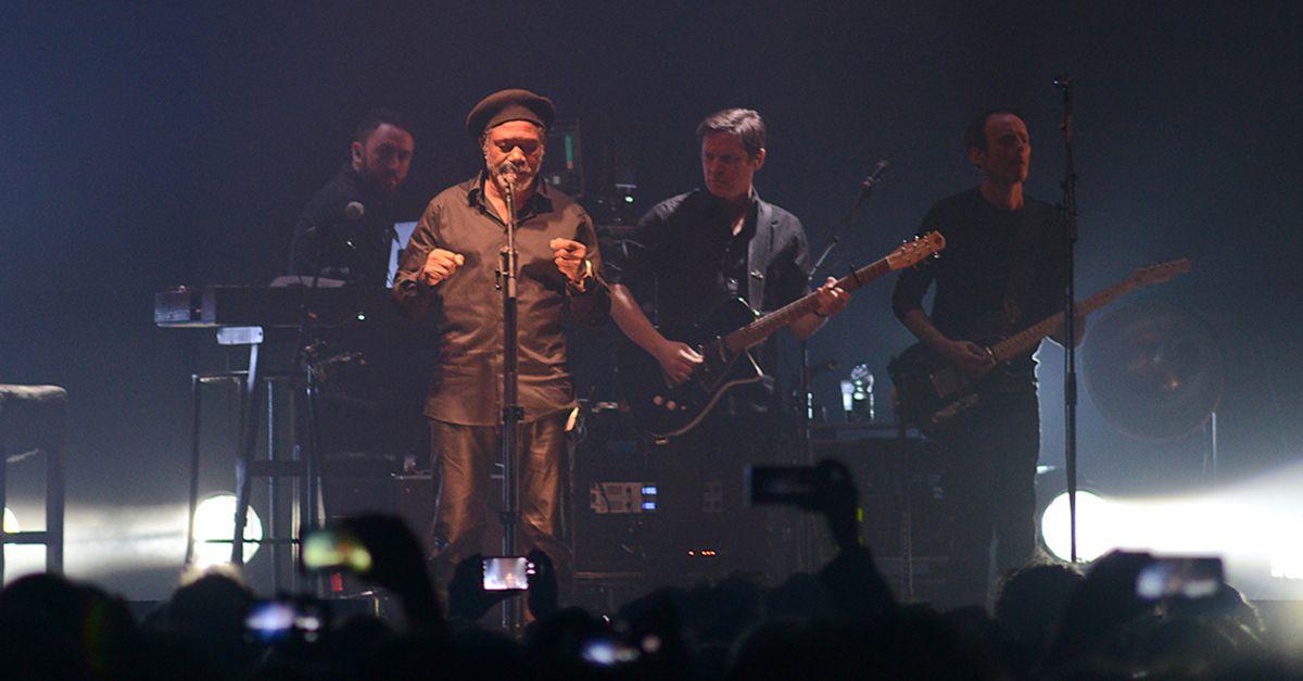 I Massive Attack in italia, le foto del concerto di Milano
