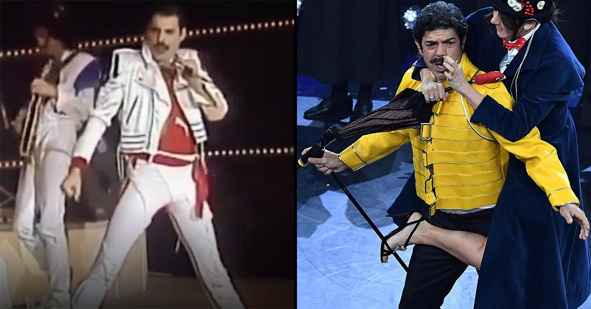 Sanremo, quando i Queen si esibirono realmente all'Ariston (con polemica di Freddie Mercury)