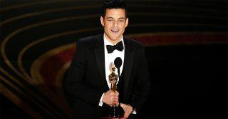 """Il discorso di Rami Malek agli Oscar: """"Io, figlio d'immigrati, non ero la scelta ovvia"""""""