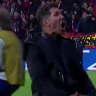 L'esultanza volgare di Simeone e la risposta di Ronaldo