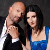 """Laura Pausini e Biagio Antonacci cantano insieme: """"In questa nostra casa nuova"""""""