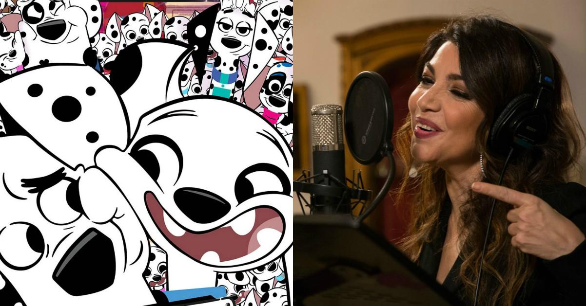 "Cristina D'Avena canta la sua prima sigla Disney per ""101 Dalmation Street"""