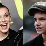 Romeo Beckham e Millie Bobby Brown: è amore?