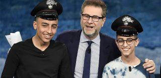 """Adam e Rami: """"Da grandi faremo i carabinieri"""". I piccoli eroi del bus incendiato ospiti a """"Che tempo che fa"""""""