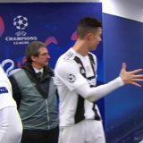 Champions, ecco come Cristiano Ronaldo ha dato la carica ai compagni prima di scendere in campo