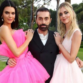 Kendall e Ferragni vestono Giambattista Valli x H&M