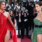Cannes 2019, Alessandra Ambrosio e Melissa Satta: gara di spacchi sul red carpet