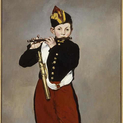 Édouard Manet Il pifferaio, 1866 Olio su tela, 161 x 97 cm Parigi, Musée d'Orsay © René-Gabriel Ojéda / RMN-Réunion des Musées Nationaux/ distr. Alinari