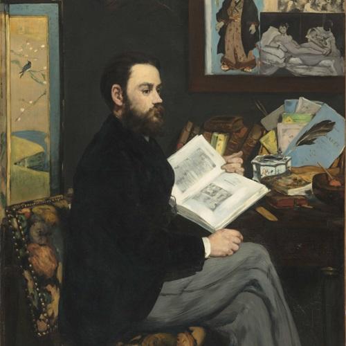Édouard Manet Émile Zola, 1868 Olio su tela, 146 x 114 cm Parigi, Musée d'Orsay © René-Gabriel Ojéda / RMN-Réunion des Musées Nationaux/ distr. Alinari