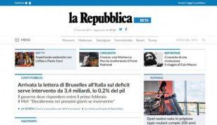 Pubblicità su repubblica.it e sul network di Gedi Gruppo Editoriale. SCONTI FINO AL 40%