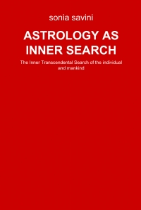 ASTROLOGY AS INNER SEARCH