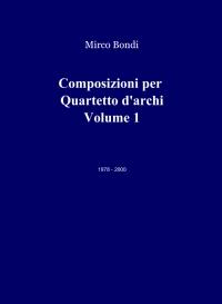 Composizioni per Quartetto d'archi