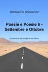 copertina di Poesie e Poesie 6 – Settembre e...
