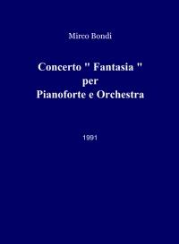 """Concerto """" Fantasia """""""