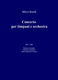 Concerto per timpani e orchestra