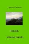POESIE  volume quinto